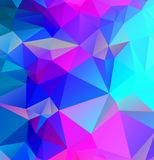 Abstract multicolor full Color rainbow background. Vector polygonal design illustrator. Eps.10 stock illustration