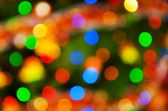 Abstract multicolor lights background Royalty Free Stock Photo