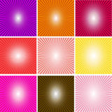 Abstract multicolor and line glowing background_01 Royalty Free Stock Image