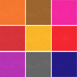 Abstract multicolor and line glowing background_02 Stock Photos