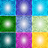Abstract multicolor and line glowing background_04 Royalty Free Stock Photo