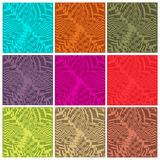 Abstract multicolor and line glowing background_05 Stock Photography