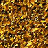 Abstract multicolor low-poly vector background - decorative pattern Stock Image