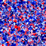 Abstract multicolor low-poly vector background - decorative pattern Stock Photography