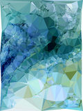 Abstract multicolor mosaic backdrop. Raster clip art. Stock Photo