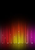 Abstract Multicolor Music Equalizer Stock Images