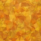 Abstract Multicolor orange, brown gradient geometric pattern. Triangles background. Polygonal raster abstract for your design. Coo stock illustration