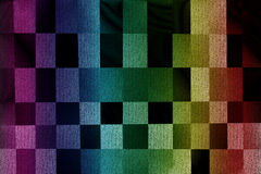 Abstract multicolor plaid background Royalty Free Stock Photography