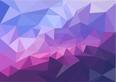 Abstract multicolor polygon triangles for background. Creative business design template. Vector illustration. EPS10 Stock Photos
