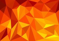 Abstract multicolor polygon triangles for background. Creative business design template. Vector illustration. EPS10 Royalty Free Stock Photos
