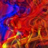 Abstract multicolor psychedelic background. Square orientation royalty free illustration