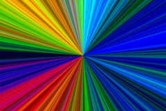 Abstract Multicolor Starburst Texture Stock Photography