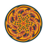 Abstract multicolor symbol Stock Photos