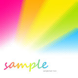 Abstract multicolor transmission glass background royalty free stock image