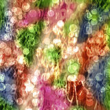 Abstract multicolored background. With blur bokeh for design Stock Photography
