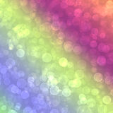 Abstract multicolored background. With blur bokeh for design Royalty Free Stock Images