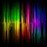 Abstract multicolored background Stock Photo