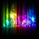 Abstract multicolored background Stock Photography