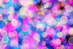 Abstract multicolored background with blur bokeh Royalty Free Stock Photo