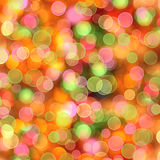 Abstract multicolored background with blur bokeh Stock Image