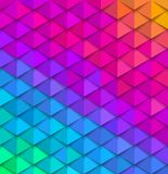 Abstract multicolored background. Paper colorful squama. Vector illustration Stock Images