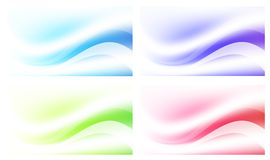 Abstract Multicolored Background Set Stock Photography
