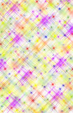 Abstract Multicolored Background with Stars Royalty Free Stock Photo