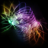 Abstract multicolored circles background Stock Photos