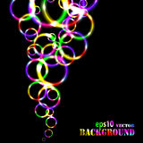 Abstract multicolored circles background Royalty Free Stock Photo