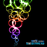 Abstract multicolored circles background Royalty Free Stock Photography