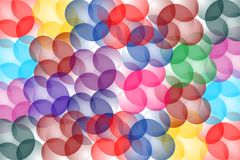 Abstract multicolored 3 D background. Vector illustration. Royalty Free Stock Photo