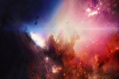 Abstract Deep Space. High Definition Star Field Background. Abstract multicolored deep space. High definition star field background . Starry outer space royalty free stock photos