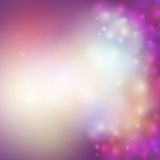 Abstract multicolored defocused lights background Royalty Free Stock Images