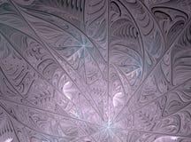 Abstract multicolored fractal computer geproduceerd beeld Royalty-vrije Stock Afbeelding