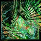 Abstract multicolored fractal pattern Stock Photos