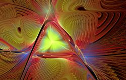 Abstract multicolored fractal pattern Royalty Free Stock Photography