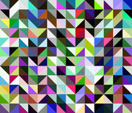 Abstract multicolored geometric polygonal background Royalty Free Stock Image