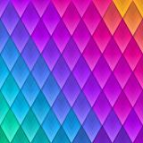 Abstract multicolored geometric shape background. Paper colorful artificial  plumage. Vector illustration. Abstract multicolored  geometric shape background Royalty Free Stock Image