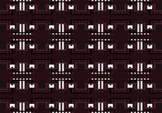 Abstract multicolored geometrisch patroon Vector naadloos patroon royalty-vrije illustratie