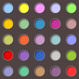 Abstract multicolored holes Stock Photo