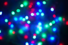 Abstract multicolored light.Christmas concept. Bokeh lights background.  stock photography