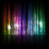 Abstract multicolored lines background Royalty Free Stock Photos