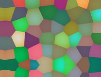 Abstract multicolored modern dynamisch elegant patroon Royalty-vrije Stock Fotografie