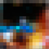 Abstract  multicolored mosaic background Royalty Free Stock Images