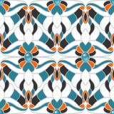 Abstract multicolored naadloos patroon Stock Illustratie