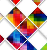 Abstract multicolored with net Royalty Free Stock Image