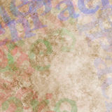 Abstract multicolored painted background with spots Royalty Free Stock Photos