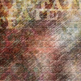 Abstract multicolored painted background with spots Royalty Free Stock Image