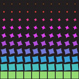 Abstract multicolored patroon van geometrische vormen Royalty-vrije Stock Foto's