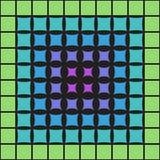 Abstract multicolored patroon van geometrische vormen royalty-vrije illustratie
